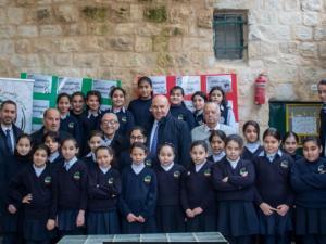 بنك القدس يستمر في دعم مدراس ورياض الاقصى الاسلامية في مدينة القدس