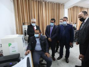 بدعم من جوال: جامعة الأزهر تفتتح مختبر المعدّات الطبية