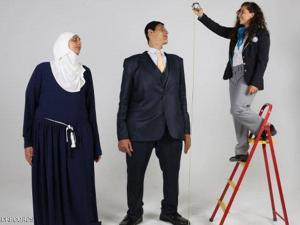 صور لعمالقة مصر.. شقيقان يحطمان 5 أرقام قياسية