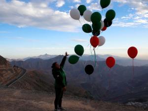 تواصل سقوط البالونات المتفجرة في مستوطنات غزة