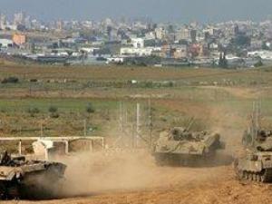 توغل جرافات إسرائيلية شرق خان يونس