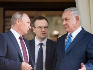 بالصور: وصول بوتين ونائب الرئيس الأمريكي بينيس الى إسرائيل