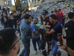 ارتفاع حصيلة الشهداء بغزة إلى 181 بينهم 52 طفلًا و31 امرأة