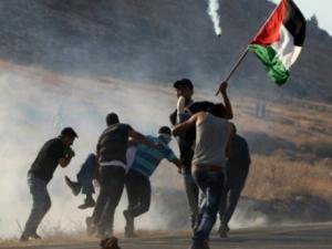 إصابات خلال قمع الاحتلال مسيرة سلمية جنوب الخليل