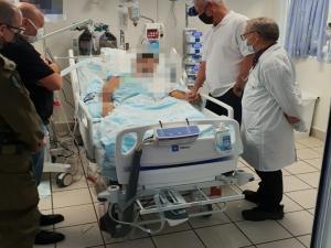الضابط الإسرائيلي المُصاب في اشتباك جنين يعود للمستشفى
