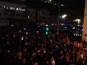 مظاهرات ليلية رغم حظر التجول تطالب برحيل الحكومة بالأردن