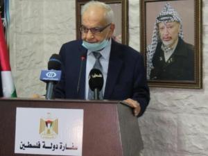 وفاة السفير الفلسطيني في دمشق محمود الخالدي