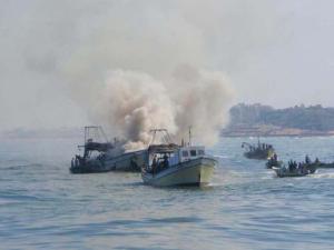 صيادي غزة