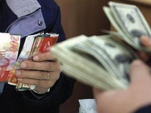 سعر صرف الدولار الأمريكي مقابل الشيكل- هبوط متواصل