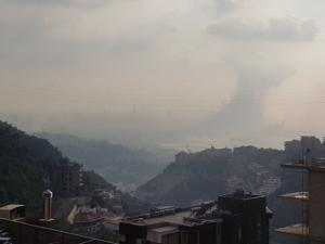 انفجار غامض يهز ميناء العاصمة اللبنانية بيروت (شاهد)