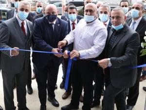 البنك العربي يفتتح فرعه الجديد في مدينة جنين