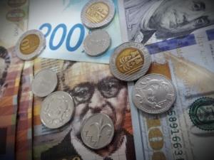 اسعار العملات مقابل الشيكل اليوم الاثنين: ارتفاع ملحوظ للدولار