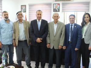 بنك القدس يدعم بلدية حزما