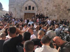 الخارجية تطالب بتوفير الحماية للمقدسات الاسلامية والمسيحية