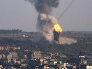 الطائرات الحربية الإسرائيلية تقصف مواقع للمقاومة في قطاع غزة