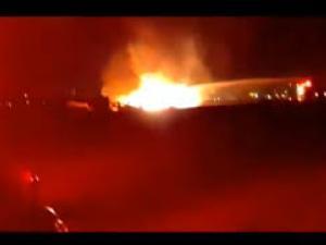"""""""معاريف"""": تحطم طائرة عسكرية """"إسرائيلية"""" واشتعال النيران فيها"""