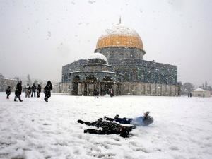 ثلوج القدس