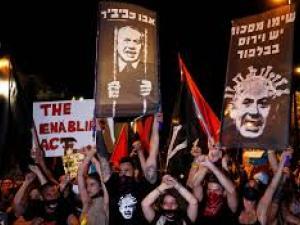 محجتجون ضد نتنياهو: كورونا تصيب الاقتصاد والشبان فقدوا وظائفهم