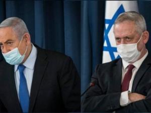 نتنياهو يغادر اجتماع الحكومة لأمر طارئ وغانتس يغضب