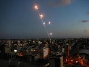 الاعلام العبري: 6 صواريخ اطلقت بإتجاه بيت شيمش والقدس