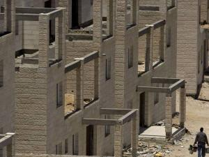 انخفاض مؤشر أسعار البناء للمباني السكنية بالضفة بنوفمبر