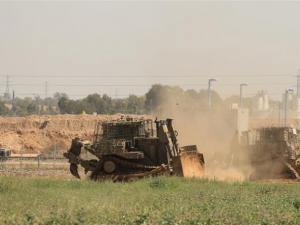توغل شمال القطاع وإطلاق نار تجاه المزارعين بالجنوب