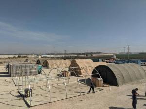 القنصلية الأمريكية بالقدس: لا علاقة لحكومتنا بالمستشفى الميداني في غزة