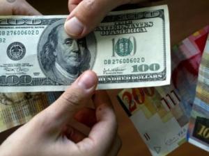 الدولار الامريكي في فلسطين اليوم الاثنين