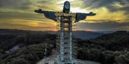 تمثال جديد للمسيح في البرازيل أعلى من تمثال ريو دي جانيرو