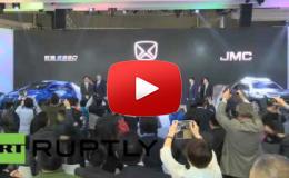 Embedded thumbnail for  شركة JMC الصينية تكشف النقاب عن سيارتها Jusheng S330