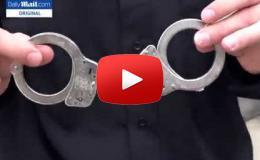 Embedded thumbnail for  شاهد كيف يمكن فك الأصفاد المعدنية بسهولة