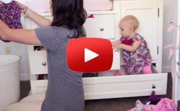 Embedded thumbnail for طفلة تعطي درسا عمليا للحفاظ على الفوضى