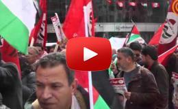 Embedded thumbnail for مسيرة وسط مدينة رام الله دعما للاسير محمد القيق