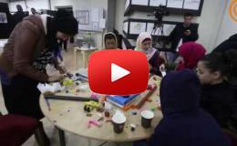 "Embedded thumbnail for حفل افتتاح معرض ""الفنون والإعاقة: تحديات ونجاح"""