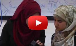 Embedded thumbnail for قصة نجاح: طالبتان من غزة تبتكران جهازًا يقرأ موجات الدماغ