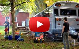 Embedded thumbnail for  عائلة تنتقل للسكن في حافلة مدرسية لغلاء الإيجارات