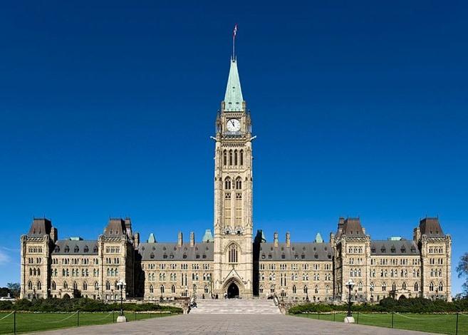 ساعة برج السلام كندا