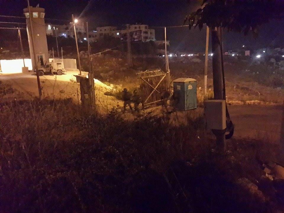 مقاومون يطلقون النار صوب دورية إسرائيلية شمال رام الله