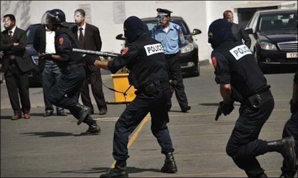 الأجهزة الأمنية المغربية
