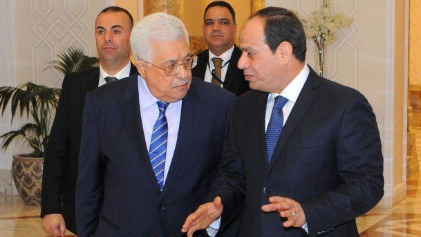 بدء اجتماع الرئيس مع نظيره المصري في القاهرة