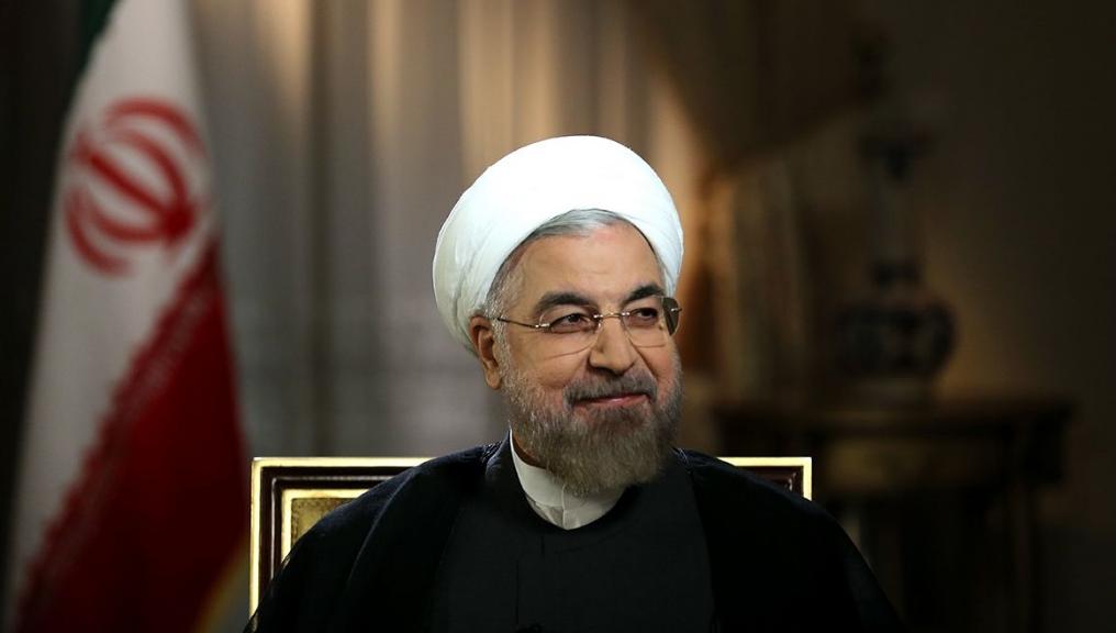 """روحاني:  ستتخذ """"كل الخطوات لدعم الشعب الفلسطيني المظلوم"""""""