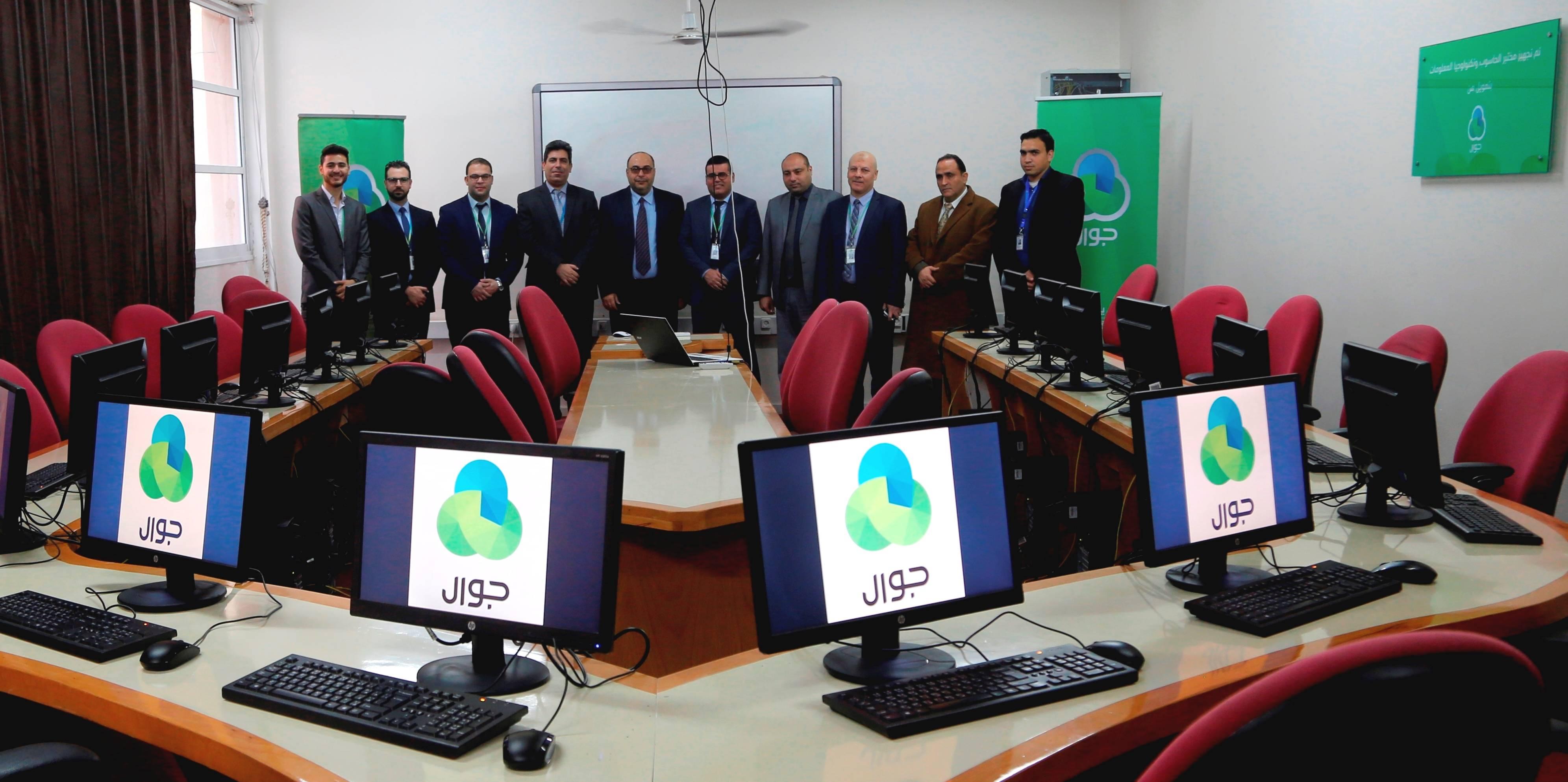 """""""جوال"""" تدعم جامعة الإسراء بغزة"""