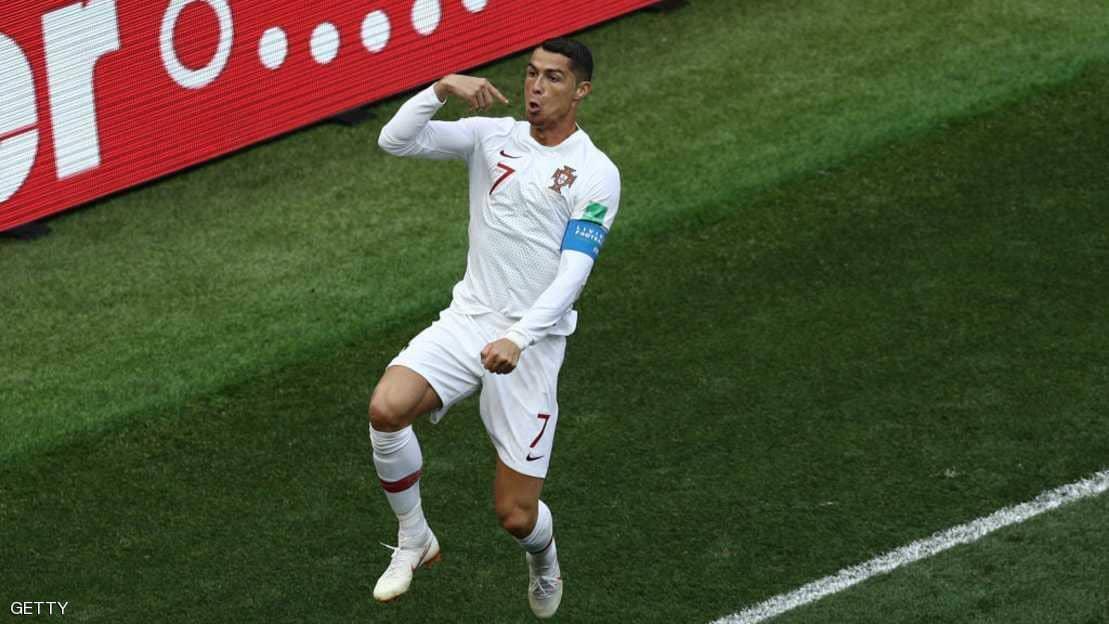 """""""أسود الأطلس"""" تسقط أمام البرتغال بهدف رونالدو"""