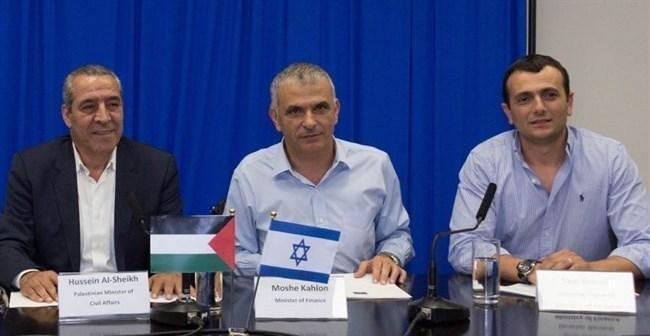 """كاحلون اجتمع بوفد فلسطيني لـ""""التفاهم"""" حول استلام أموال المقاصة"""