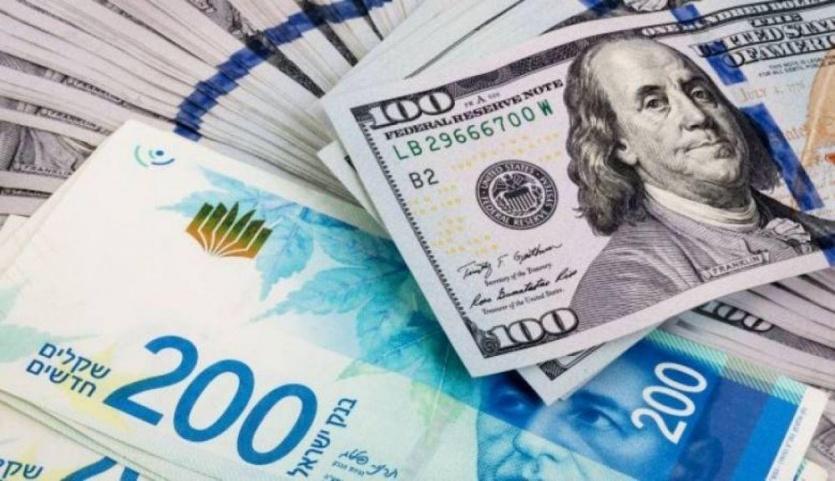 أسعار صرف العملات (بالشيكل):