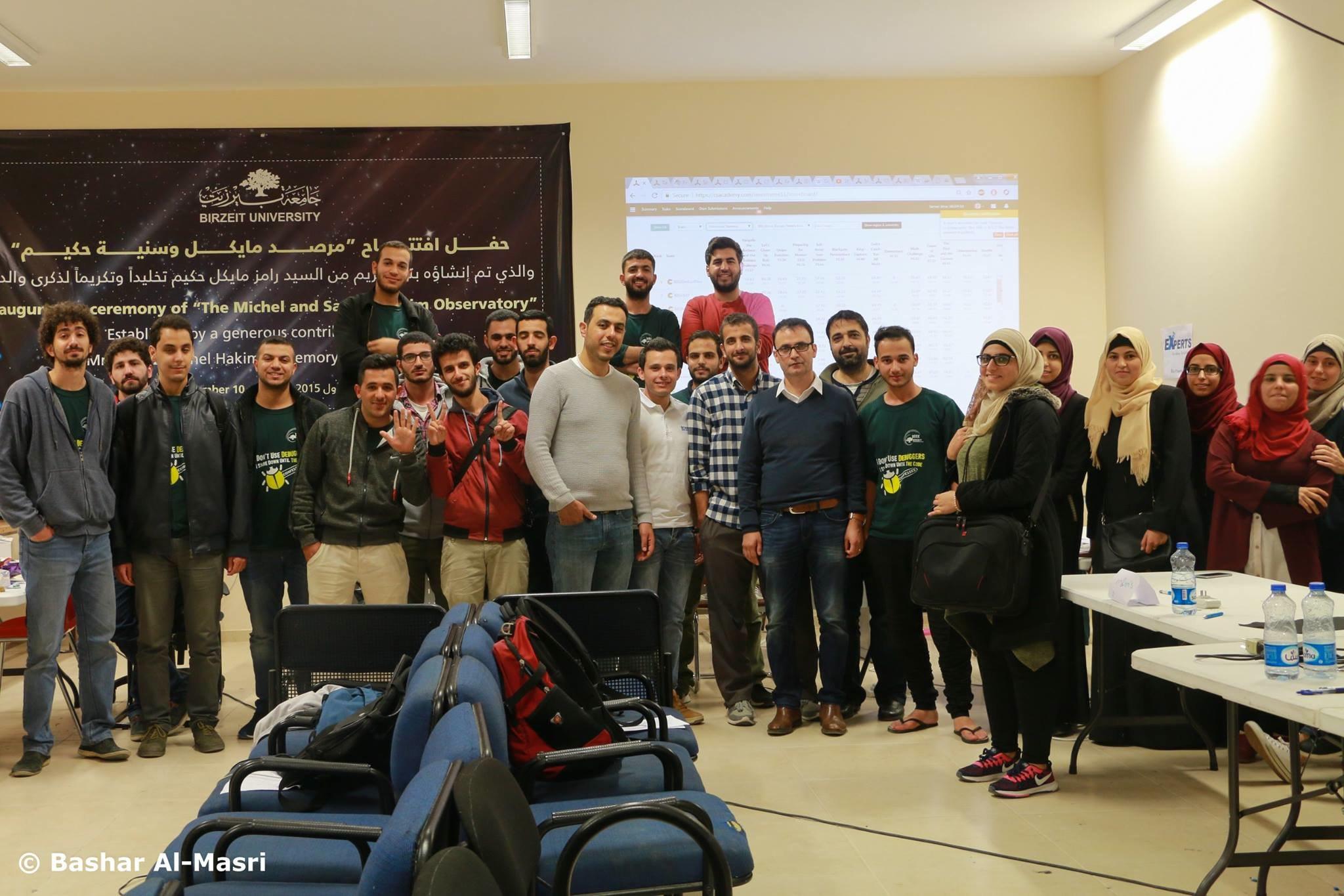 جامعة بيرزيت الأولى فلسطينياً في المسابقة العالمية  IEEEXtreme