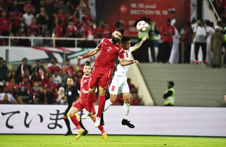 كأس آسيا.. التعادل السلبي يحسم مواجهة سوريا وفلسطين (شاهد)
