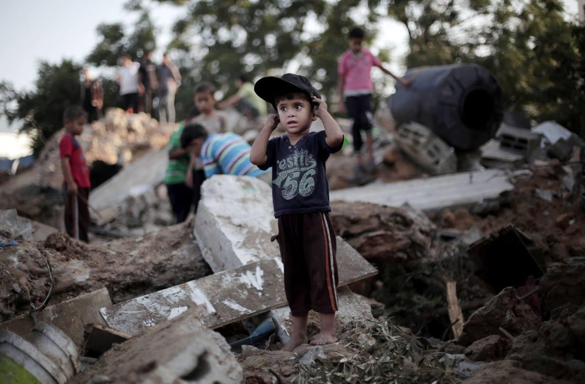صورة من حرب غزة