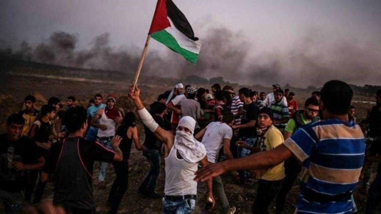 """غزة تستعد لجمعة """"لا تفاوض ولا اعتراف بالكيان"""""""