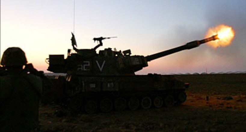 مدفعية الاحتلال تقصف شرق القطاع